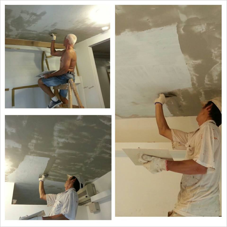 防水隔热铁皮屋~结构补强~屋顶防水~壁癌~装潢