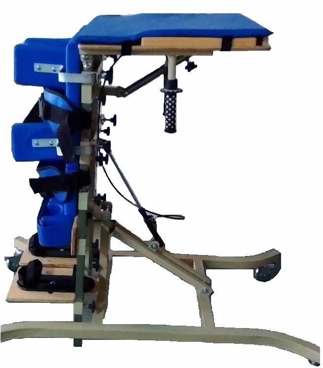 直立式站立架 后仰式站立架 前趴式站立架电动倾斜床图片