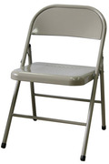 橋牌折合椅(Folding chair with all steel)