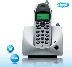 Dualphone DECT Cordless 2-in-1 Skype phone