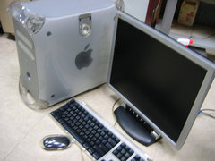 蘋果 POWER MAC G4 800MHz 768MB RAM 60GBHDX2((不含螢幕))